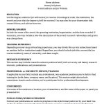 Academic CV Template Download