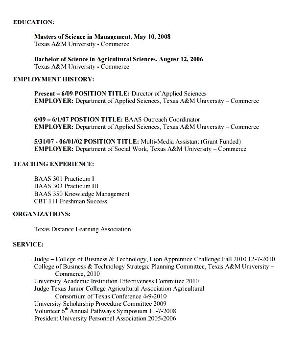 Agriculture-Resume-Format Sample Curriculum Vitae Agriculture on design for small group, template structuring, maps language arts, maps for spanish 1,