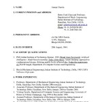 Automobile Resume Sample