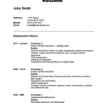 Automobile Resume Template Download