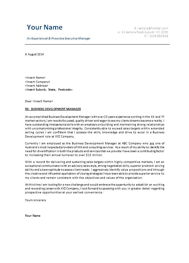 business administration cover letter sle free sles