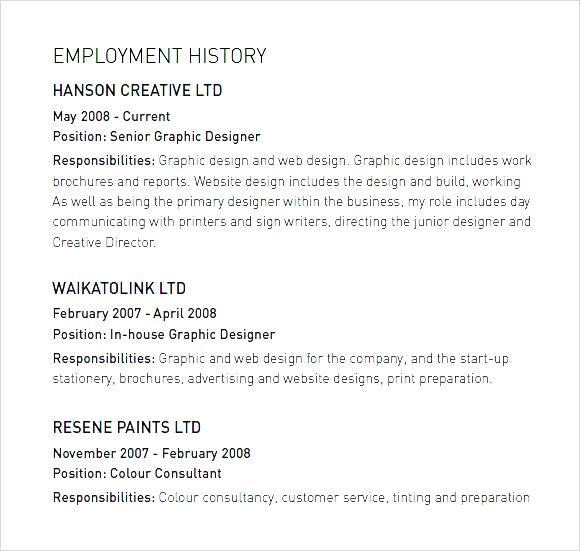 CV Portfolio Small Graphic Designer PDF