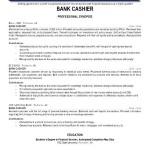 Cashier Job Description Resume Sample