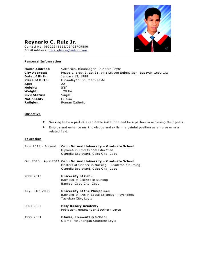 Comprehensive Resume Sample | Free Samples , Examples ...