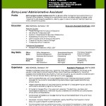 Creative Resume Assistant Principal