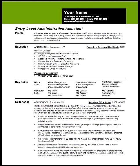 creative resume assistant principal free sles