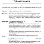 Database Administrator Resume PDF