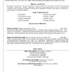 Dental Assistant Resume Skills