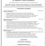 Event Coordinator Resume Template