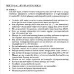 Example Meeting Event Planning Skills PDF