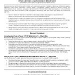 Federal Law Enforcement Resume Sample