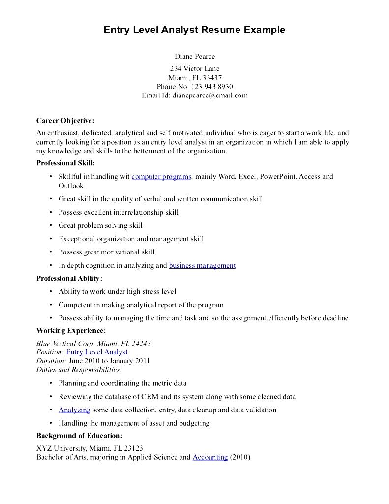 financial analyst vancouver wa resume template