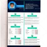 Flat Resume – CV Template