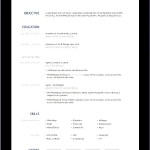 Free HTML Resume Template