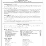 Free Registered Nurse Resume