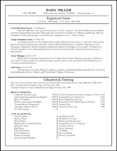 fresh graduate nursing resume free sles exles