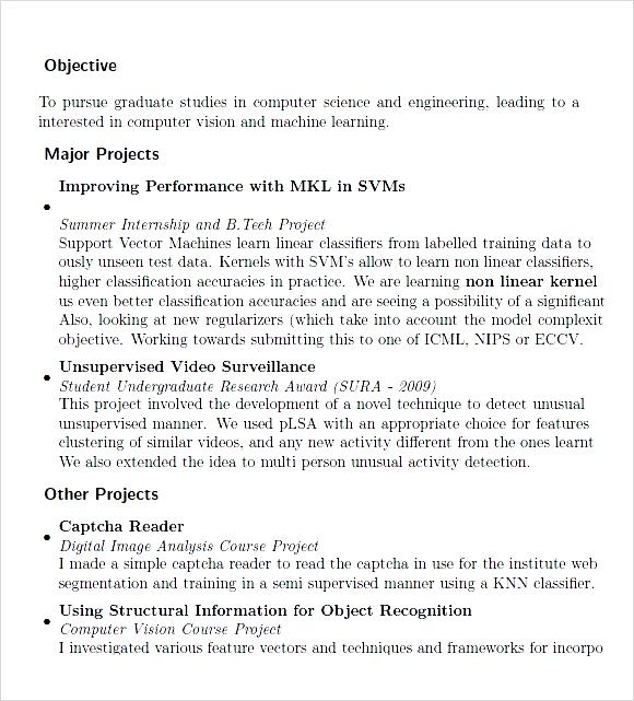 Sample Resume Format For Msc Computer Science Freshers Vosvetenet – Sample Resume Format for Freshers Engineers