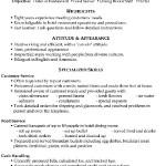 Functional Resume Sample Food Server Porter.png