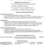 Functional Resume Sample Housekeeping Supervisor.png