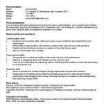 General CV Template Free