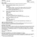 General CV Template PDF Sample