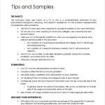 General Teaching CV Template