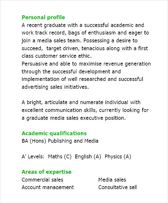 Graduate media sales executive cv template pdf free samples graduate media sales executive cv template pdf yelopaper Gallery