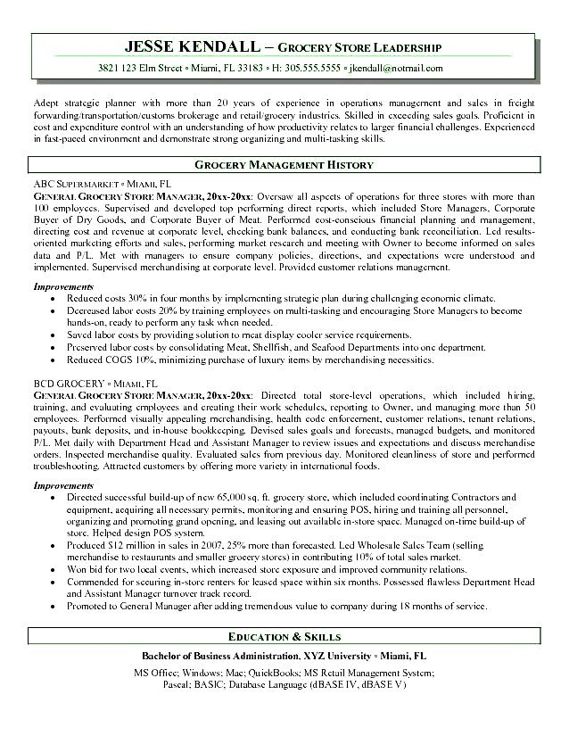 store clerk sle resume traveling employer see some