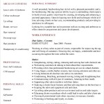 Hairdressing CV Template Sample