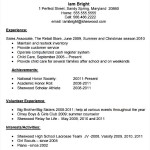 High School Resume Template PDF Download