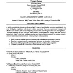 Lawyer Resume Template Download