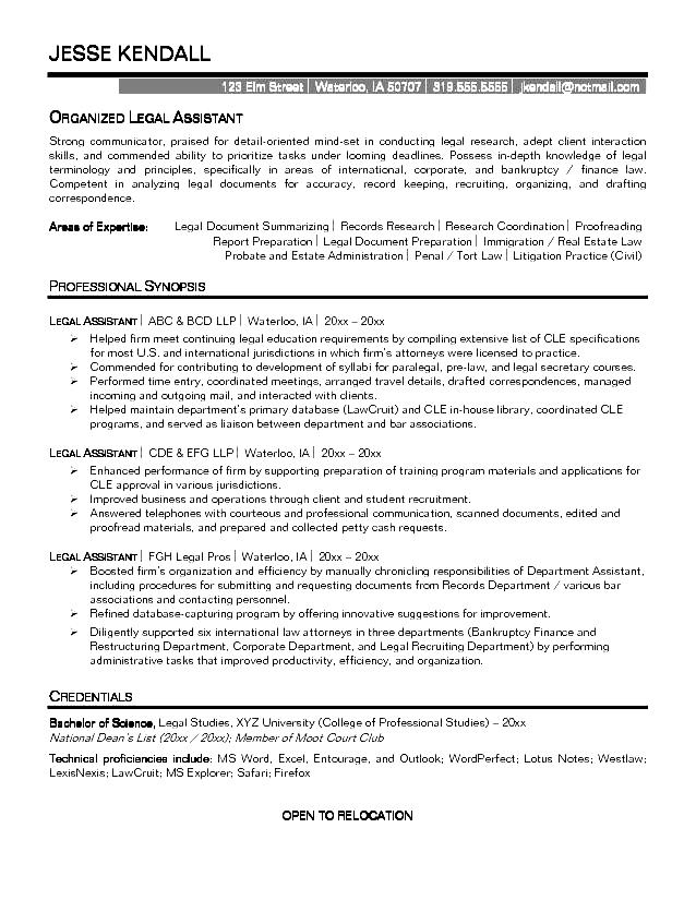 Legal-istant-Resume Template Cover Letter Open Office Legal Istant Resume Example Wvbnmz on