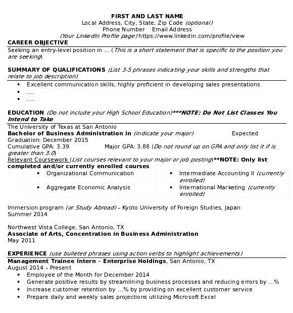 It support technician resume