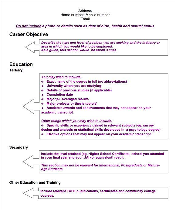 modern cv template pdf free samples examples format