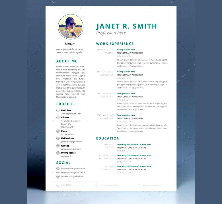 Multipurpose CV Template  Purpose Of A Resume