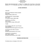 musical theatre resume examples free samples examples format