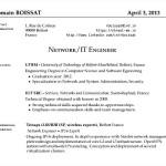 Network Engineer Resume PDF