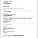 New Attorney Resume