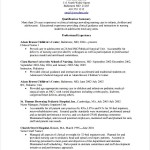Nursing CV Template PDF Printable