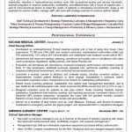 Nursing CV Template PDF Sample