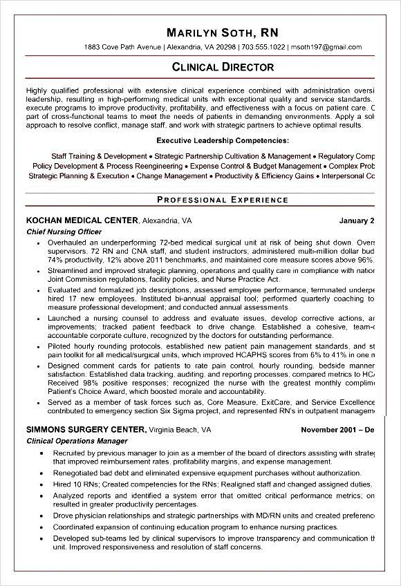 nursing cv template pdf sample