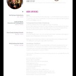 Professional Hair Stylist Resume Sample