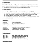 Project Manager CV Template Free PDF