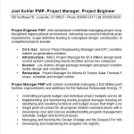 Project Manager Resume Format PDF Sample