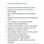Project Manager Resume Sample PDF
