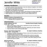 RN Resume Template