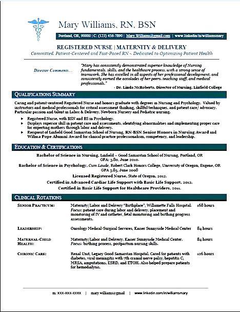 registered nurse resume templates free samples examples