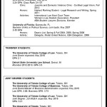 Resume Education Section High School