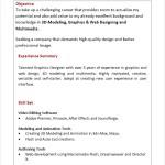 Resume Sample Freshers Entry Level PDF
