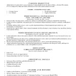 Resume Template BW Formal